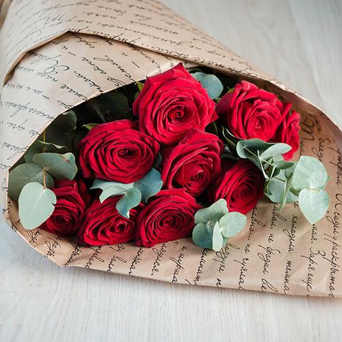 Букет из красных роз №1