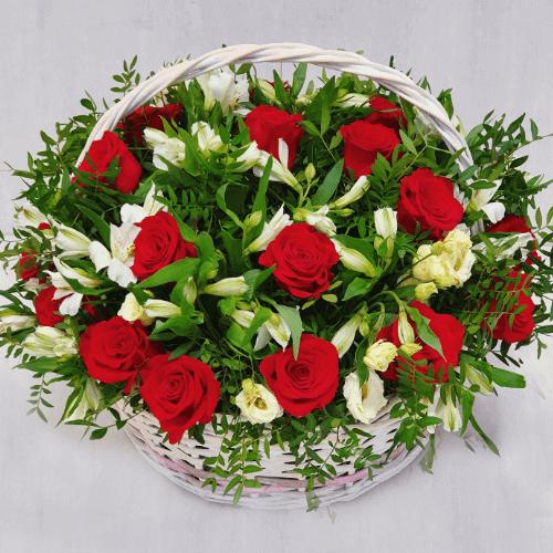 """Корзина """"Царство цветов"""""""