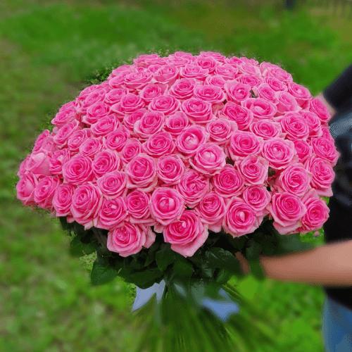 """БУКЕТ """"101 розовое счастье"""""""