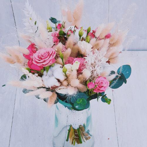 """Букет невесты """"Сухоцветы"""""""